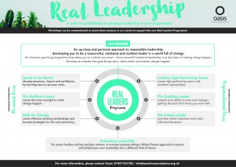 Real Leadership infographic