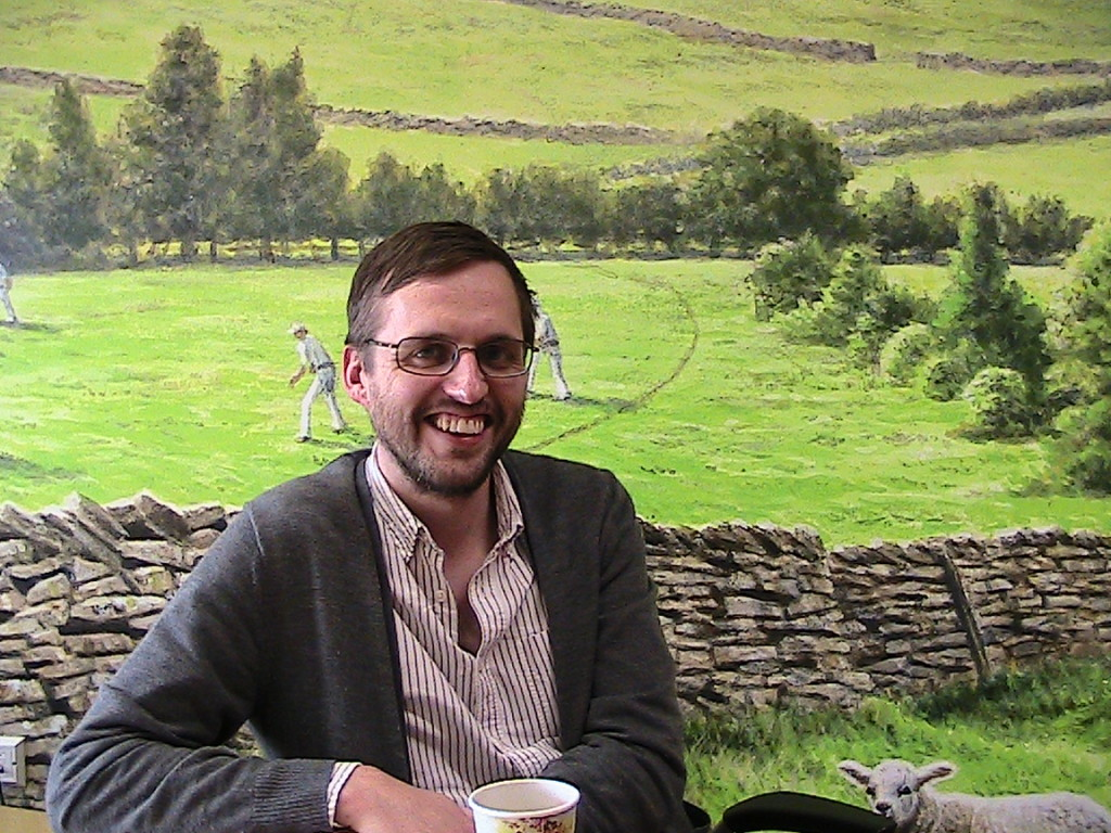 Tom Goodhand, internal communications manager for Bettys and Taylors Group