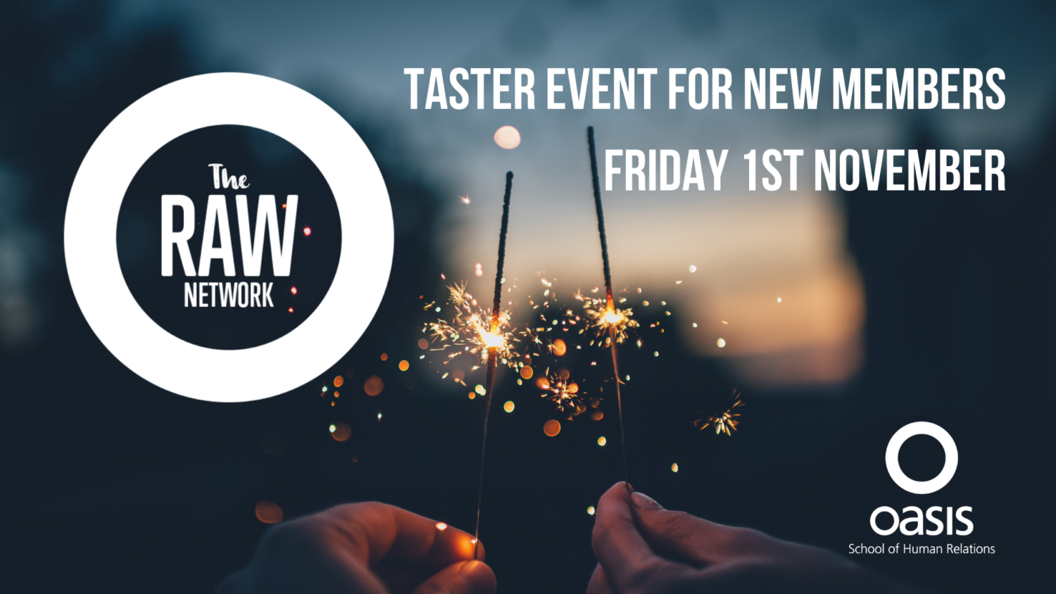 RAW Taster event 2019