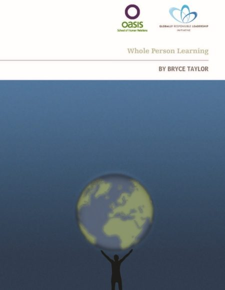 Front cover of Whole Person Learning manual
