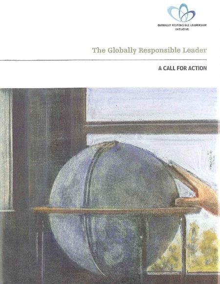 Front cover of The Globally Responsible Leader: A Call for Action