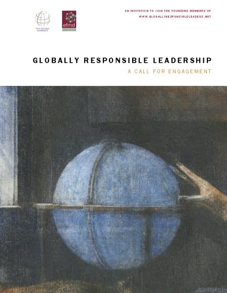 Front cover of Globally Responsible Leadership A Call for Engagement