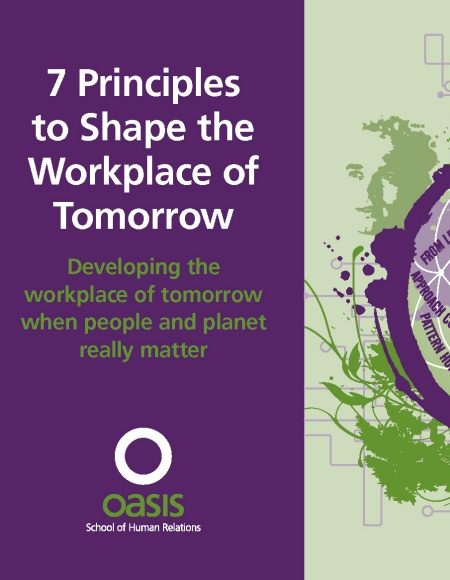 Front cover of 7 Principles to Shape the Workplace of Tomorrow