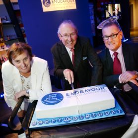 40 years for Endeavour Housing Association