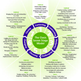 The Oasis Seven Stage Model for Effective Working Relationships